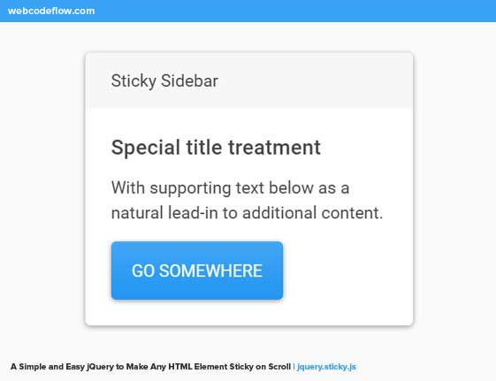 jQuery-to-Make-Any-HTML-Element-Sticky-on-Scroll