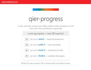 Slim-Progress-Bars