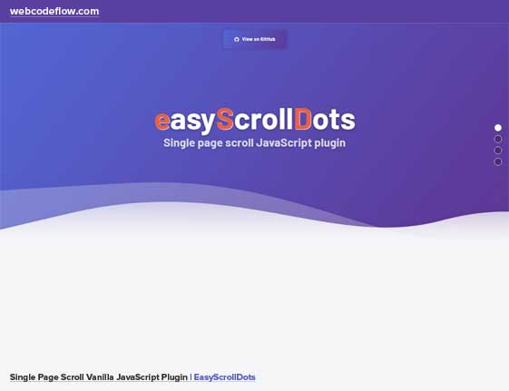 Single-Page-Scroll-EasyScrollDots