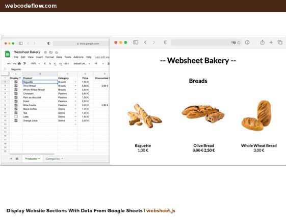 google-spreadsheets-websheet-js