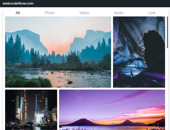 multimedia-lightbox-mixgallery-js