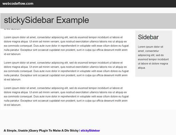 sticky-sidebar-plugin