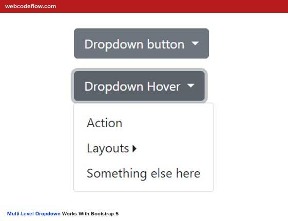 bootstrap-5-multi-level-dropdown