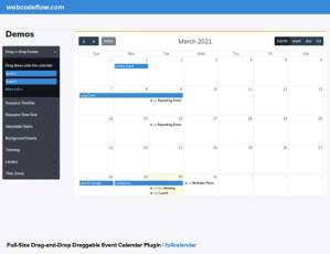 draggable-event-calendar-fullcalendar