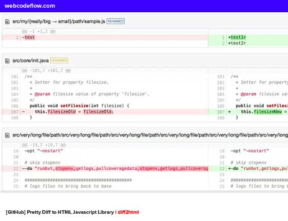 github-diff-to-html