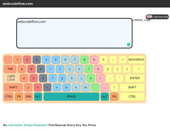 interactive-Virtual-Keyboard