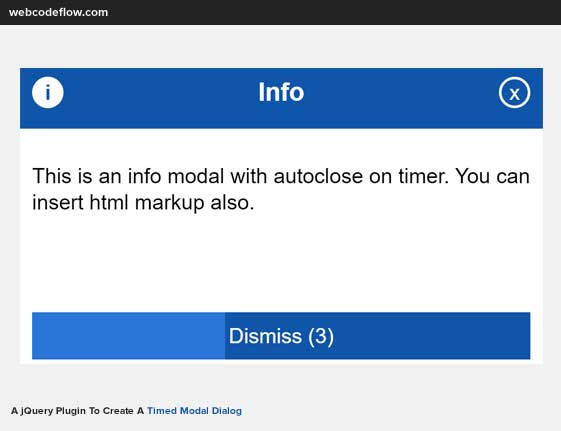 jquery-timed-dialog-plugin