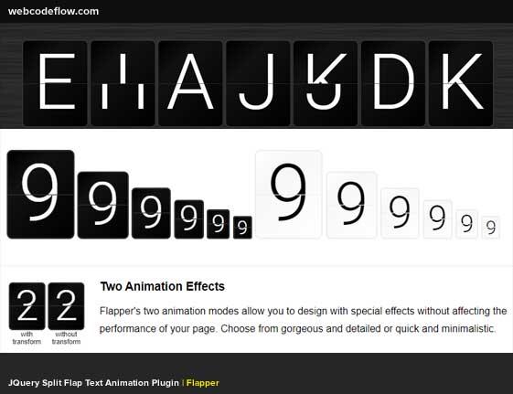 text-animation-plugin-flapper