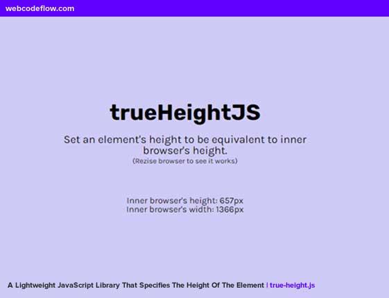 true-height-js