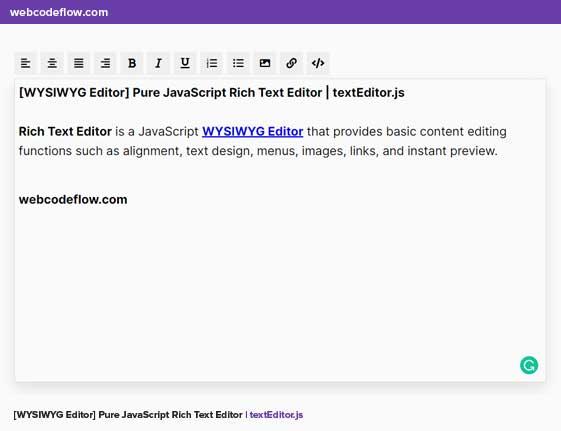 rich-text-editor-js