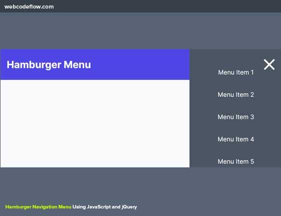 hamburger-menu-js