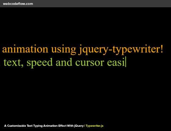 jquery-typewriter-plugin