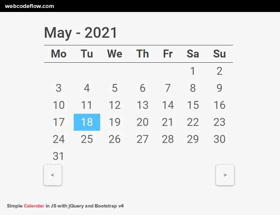 multilingual-calendar-js