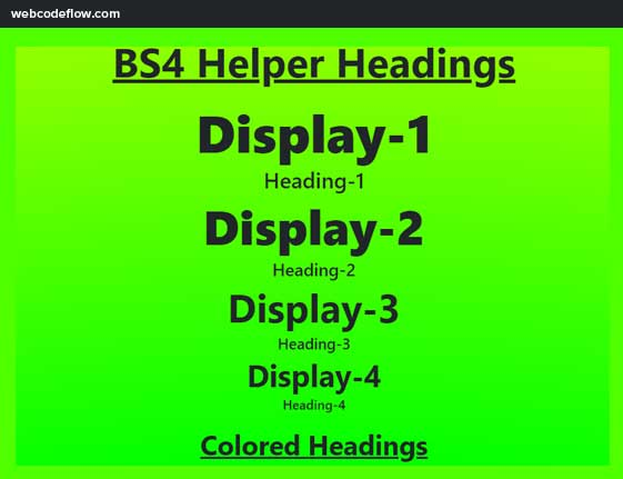 bootstrap-bs4-helper