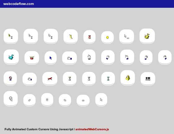 animated-web-cursors-js