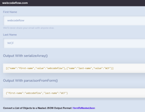 form-to-nested-json