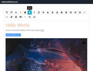 rich-text-editor-html5
