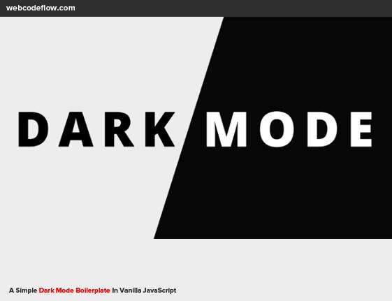 dark-mode-javascript
