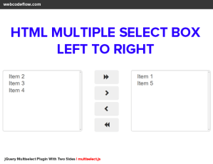 html-multiple-select-box-left-to-right