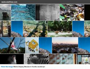 flickr-photo-grid-javascript