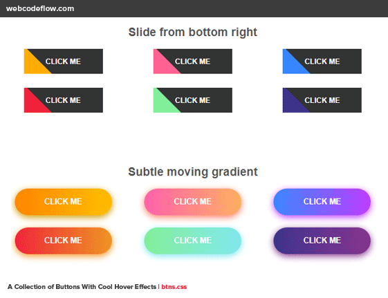 pure-css-button-hover-effects