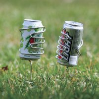 picnic beer can holders | PinPoint