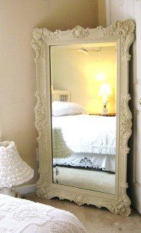 Vintage oversized mirror