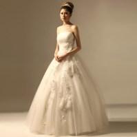 Layered Fancy Pink Vintage Ball Gown Organza Wedding Dress ...