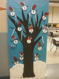 school christmas door decorating ideas  Google Search ...