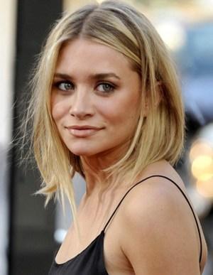Ashley Olsen medium hairstyle for fine hair