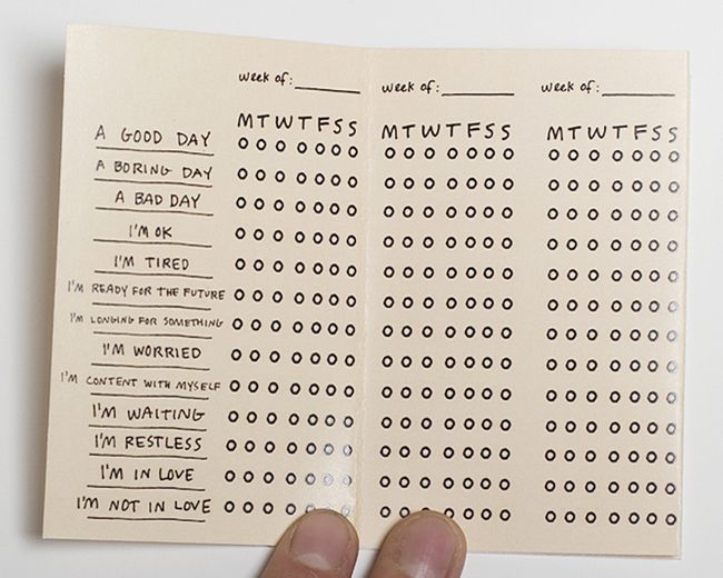 This would be a fun idea for a page in your bullet journal to keep track of the boring stuff you have to d