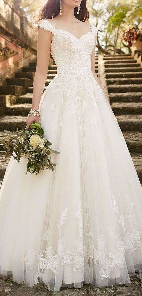Mesmerizing Wedding Dress Ideas That Would Make You A Fairy Princess – Trend To Wear