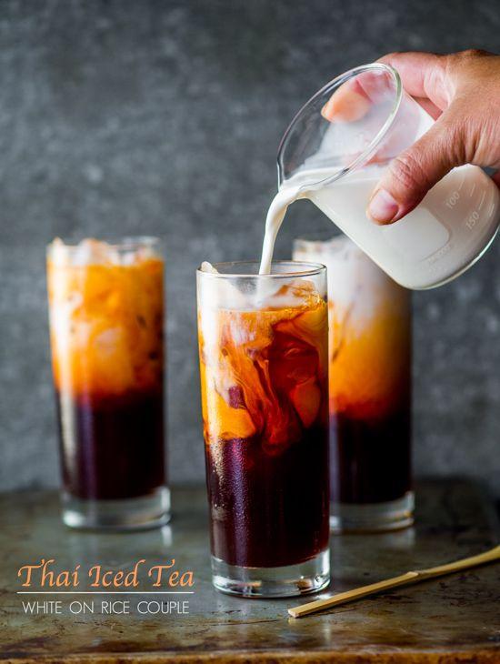 Easy Thai Tea Recipe (Thai Iced Tea) Recipe from @Diane Cu (White On Rice Couple) and @Todd Porter (White