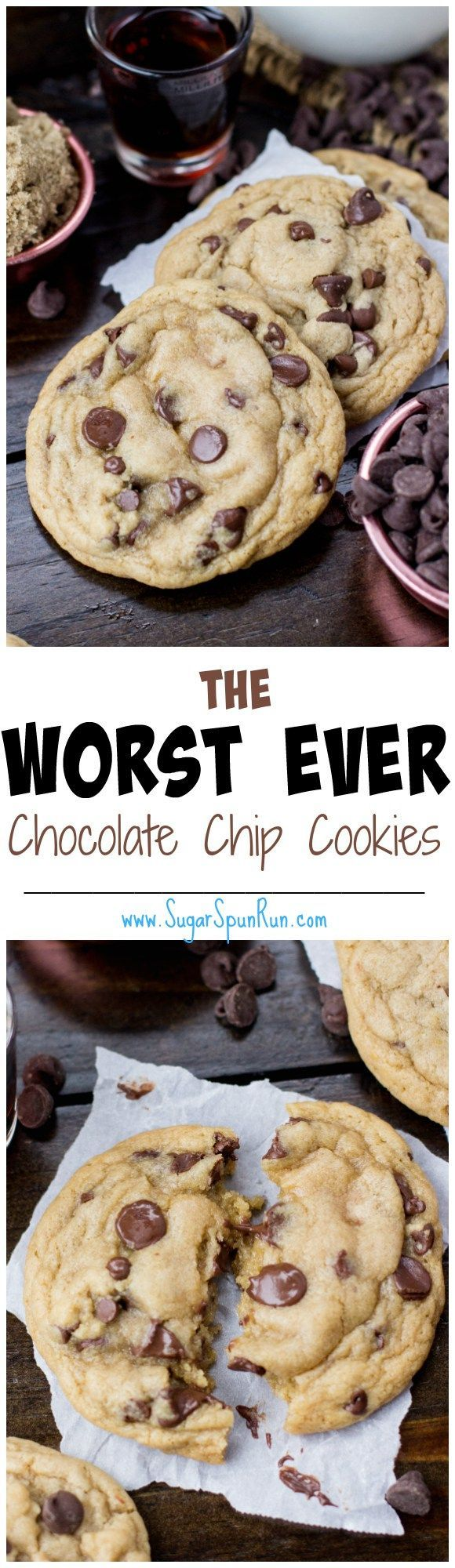 These chocolate chip cookies are perfection. And I love the secret ingredient!