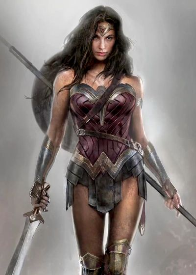 Dawn of Justice Superman and Wonder Woman concept art… Styling and profiling Source:https://m.youtube.co
