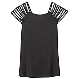 cut out strip sleeve t-shirt So doing this to one of my tshirts