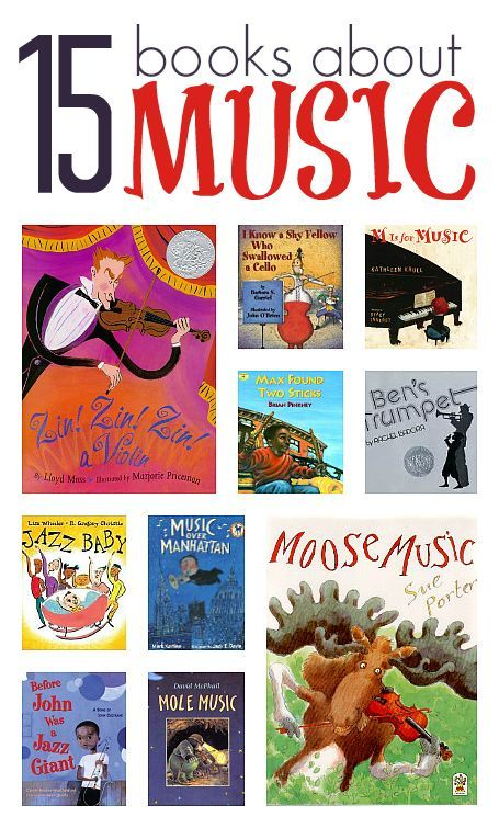 Picture books about music and instruments for kids. I've only read four of them, but it looks like a good