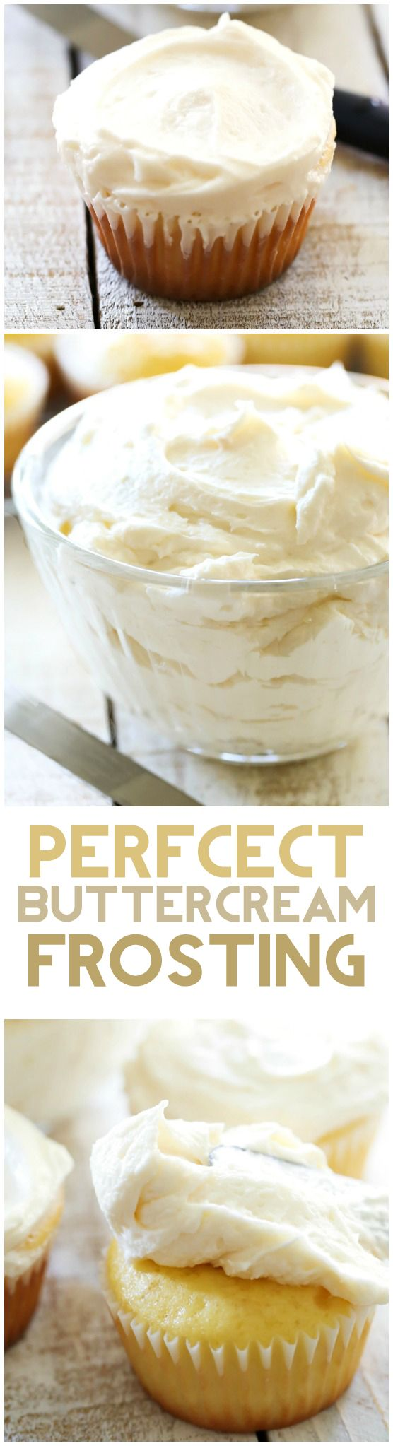 This Classic Buttercream Frosting recipe is perfection! Perfect consistency and perfect flavor! This is my