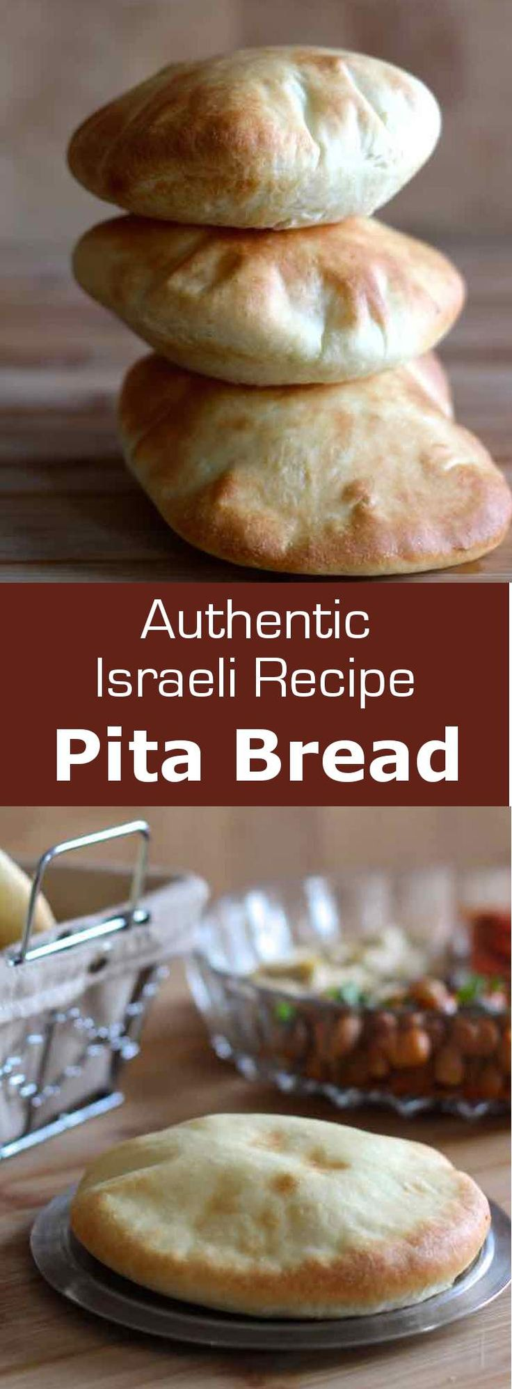 Pita bread is a soft and thin flat bread, consumed in the Near East and Middle East as well as in Southern