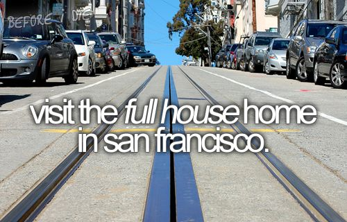 or just go to san fran, really.