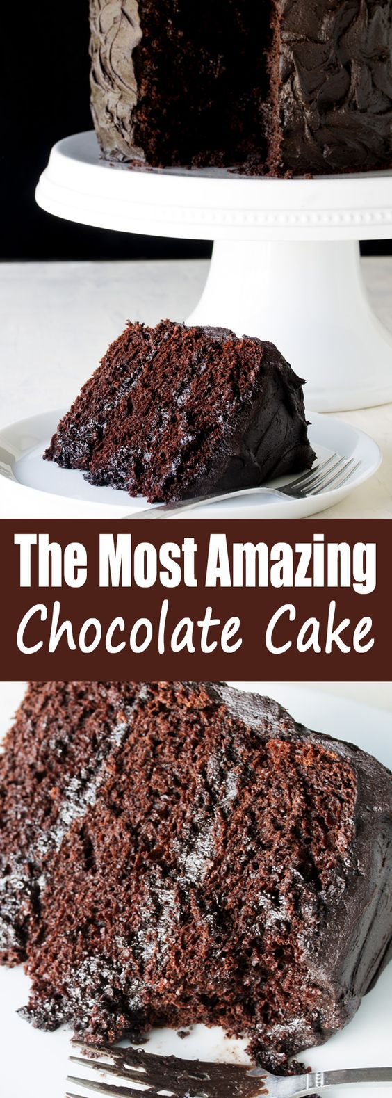 The Most Amazing Chocolate Cake is here. I call this my Matilda Cake because I swear it's just as good as