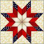 Patriotic Blazing Star – tutorial