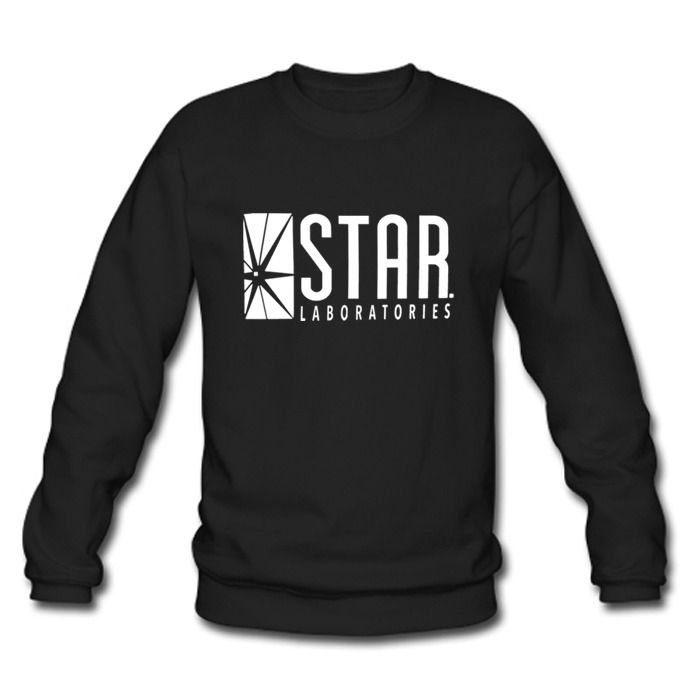 STAR Labs black sweatshirt (from The Flash) So I know what I want for Christmas…