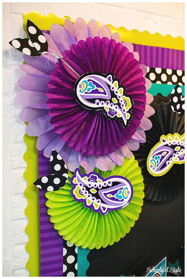 Midnight Orchid by Schoolgirl Style! www.schoolgirlsty… purple, teal, turquoise, lime green