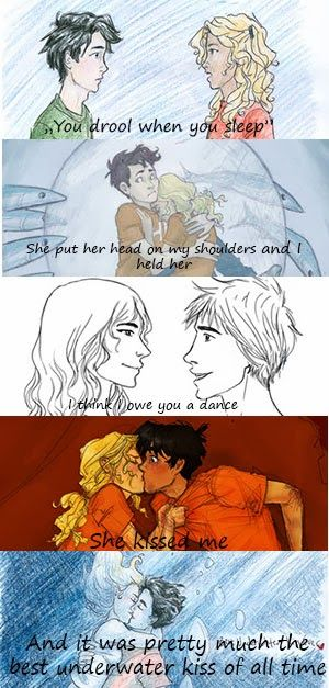 DAILY PERCABETH AWESOMENESS BUT HAS A LOT OF FEELS pin!!  They *sniff* grown up SO FAST *cries and thrashi