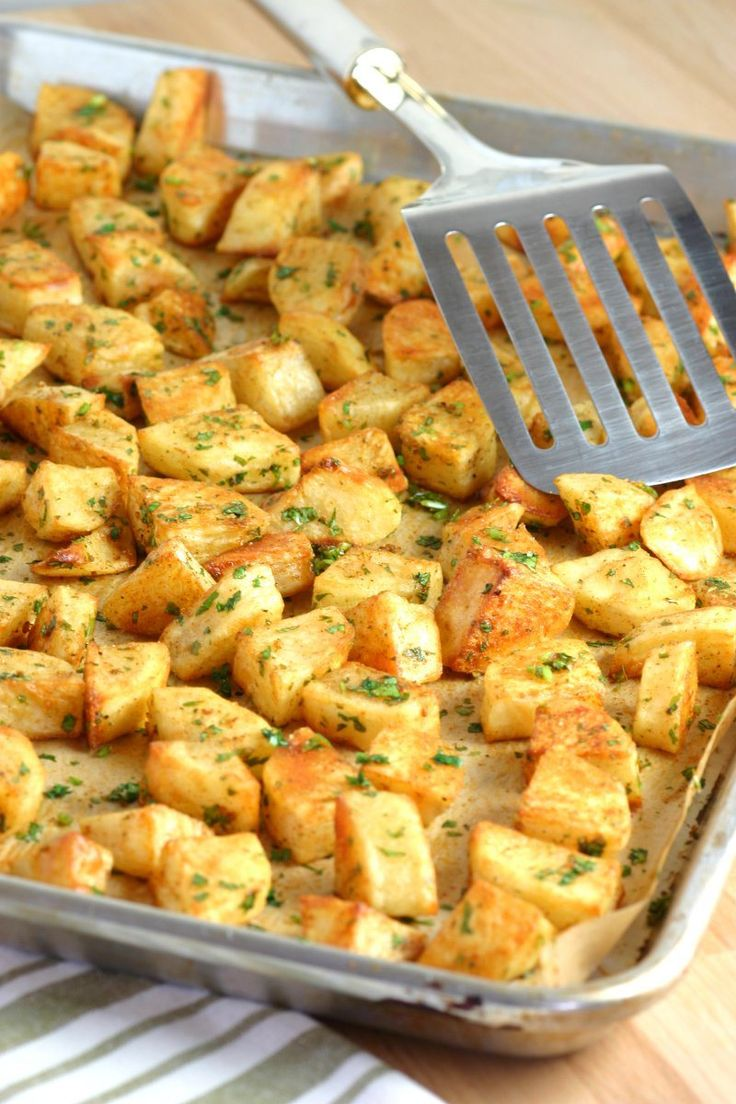 An easy to make recipe for Spicy Lebanese-Style Potatoes – Batata Harra. These spiced potatoes are a flavo