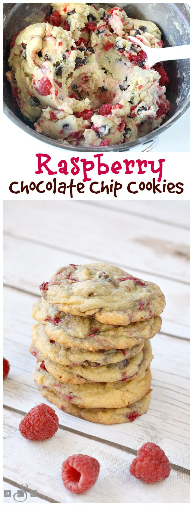 Raspberry Chocolate Chip Cookies – Butter With a Side of Bread