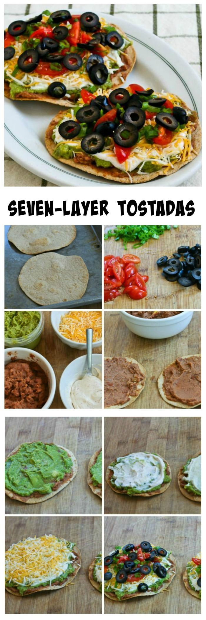 There must be a lot of seven-layer dip fans because these Seven-Layer Tostadas have been a hit with ev