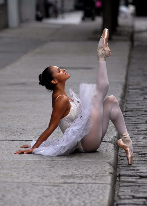 """Ballet…something pure in this crazy world"" –Misty Copeland …….a visually appealing a"
