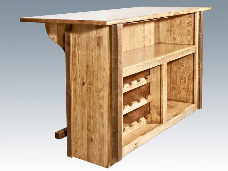 Homestead Barnwood Deluxe Bar with Foot Rail for my patio!